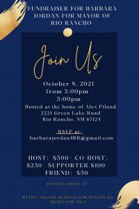 Barbara Jordan for Mayor Fundraiser @ Home of Alex Piland