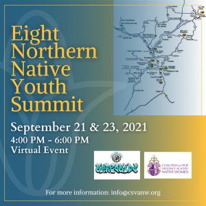 Eight Northern Native Youth Summit @ Online virtual summit